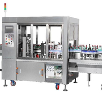 Hot Glue Labeling Machine For Plastic Bottle