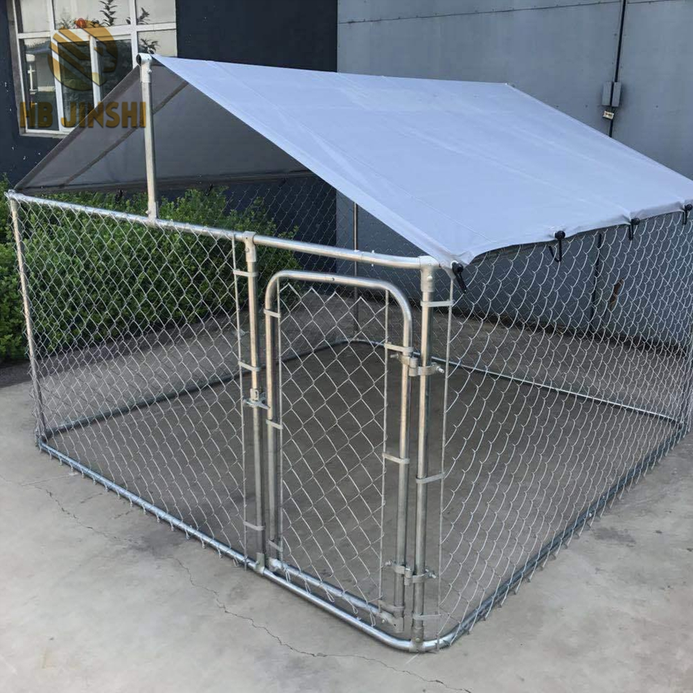 Heavy Duty Steel Frame Chain Link Wire Box Outdoor Dog Kennel - Buy ...