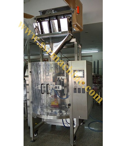 4 Heads Linear scale Digital Weigher with Packing system.jpg