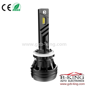 New 9-32V 6000lm 56watts 880 881 car led headlight (with fan built-in)