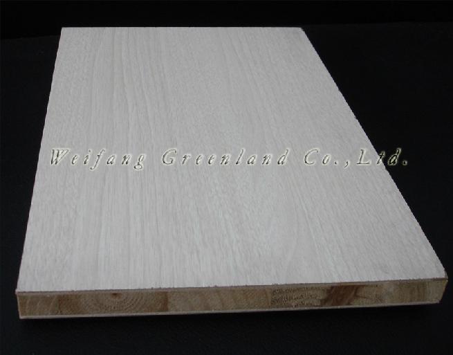 Pvc film block board ce sgs iso grade mm