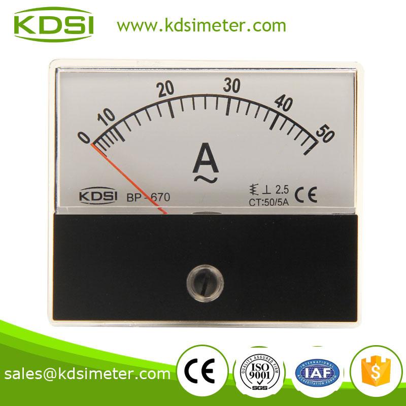 电流测量仪表 bp-670 ac50/5a