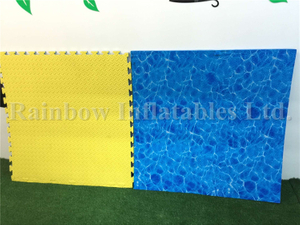 Front Side And Back Side OF EVA mattress/Mat