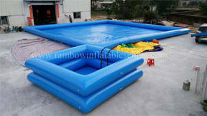 RB30018(4x4x1m)Inflatable Little Swimming Pool For Water Game