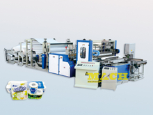 Fully Automatic Toilet Tissue Paper & Kitchen Towel Production Line
