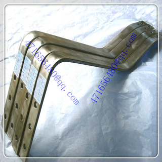 high quality ti cladding copper finishing pieces for chloro-alkali