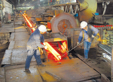 Heat-treated steel rails