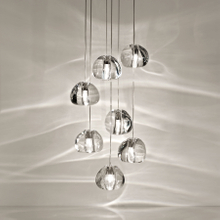 Mizu Crystal Glass Chandelier landscape lamps LED lighting (5317101)