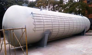 Liquid gas Storage Tank Cryogenic LNG tank ~100m3