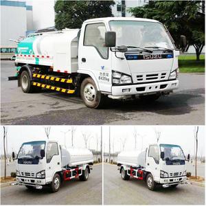ISUZU 4x2 small water tank truck 5000L