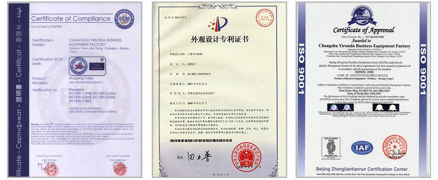 certificates yirunda