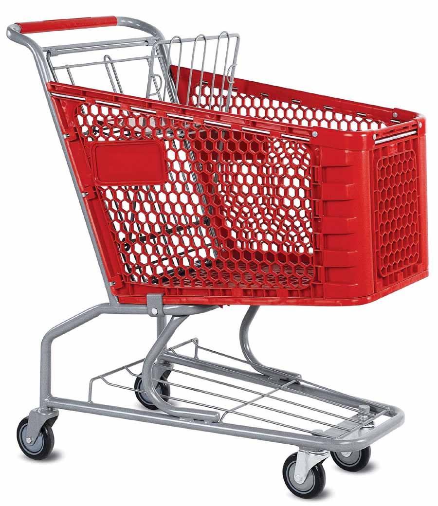 Plastic Shopping Cart (YRD-S180)