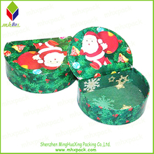 D Shaped Christmas Gift Paper Box for Chocolate Packaging