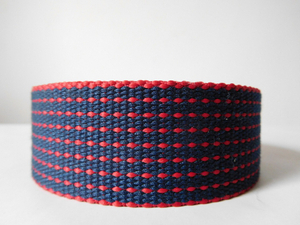 36mm secondary color polyester webbing for bags belts