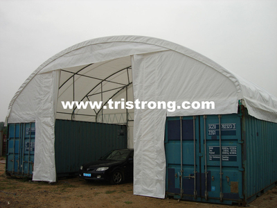 Container Shelter, Container Tent, Container Cover, Canopy (TSU-3620C, 3640C)