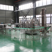 Automatic CGF8-8-3 Washing Filling Capping Machine (3-in-1)