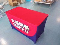 6ft Advertising Stretch Material Printed Table Cover