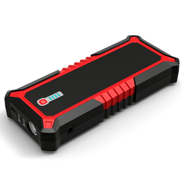 25000mAh Quick Charge Type C (Pd60W max) Portable Car Jump starter power pack