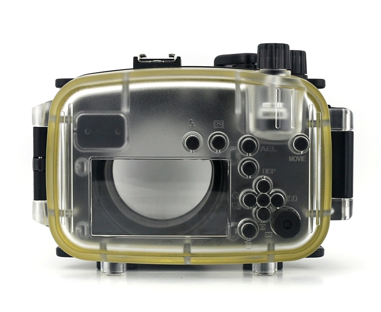 Meikon NEX6 Housing is 1meter shock resistant and protects the camera ...