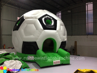 RB1015(dia 4m )Inflatables Small Football Shape Bouncer