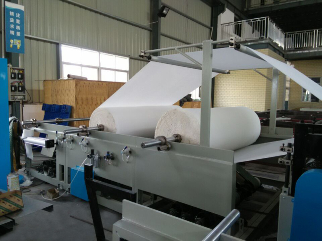 JUMBO ROLL STAND of tissue paper machine