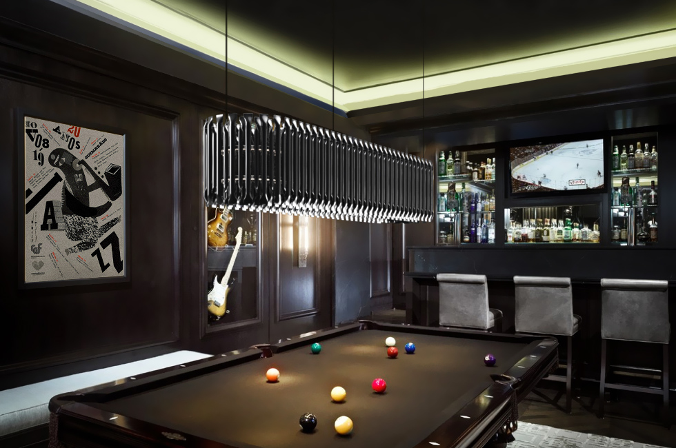 Matheny Linear Suspension By Delightfull Snooker