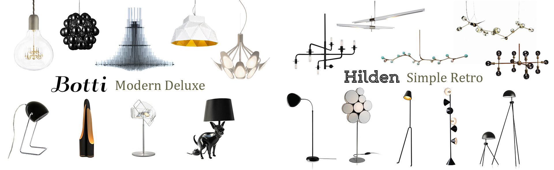 2016 New brand modern designer lighting from china light factory