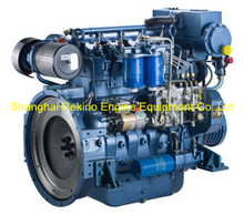 102HP 2100RPM Weichai Deutz marine propulsion diesel boat engine (WP4C102-21)