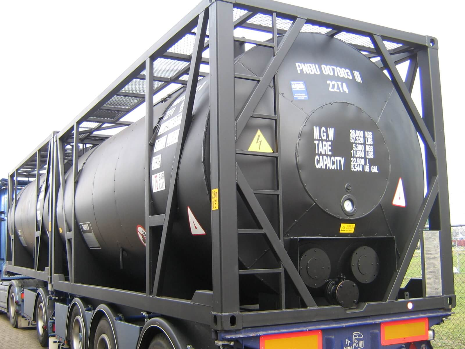 20ft Asphalt Crude oil tank container stainless steel