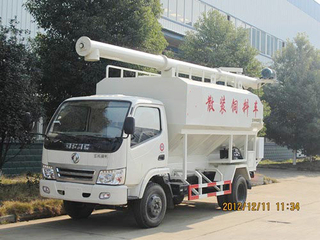 Bulk poultry feed transport truck 7cbm