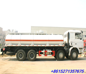 SHACMAN 8x4 F3000 Crude oil road tanker