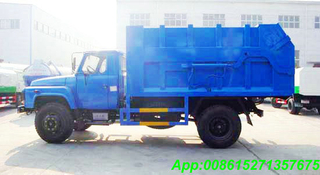 Refuse Transportation Truck with 10~12M3 LHD /RHD