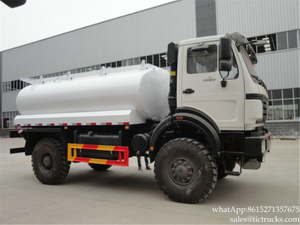 Beiben fuel tanker truck 4x4 off Road Fuel Tanker <LHD RHD>