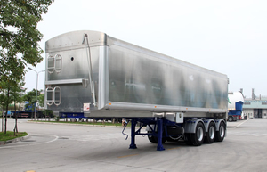 Tri-Axles Aluminum Tipper Semi-Trailer
