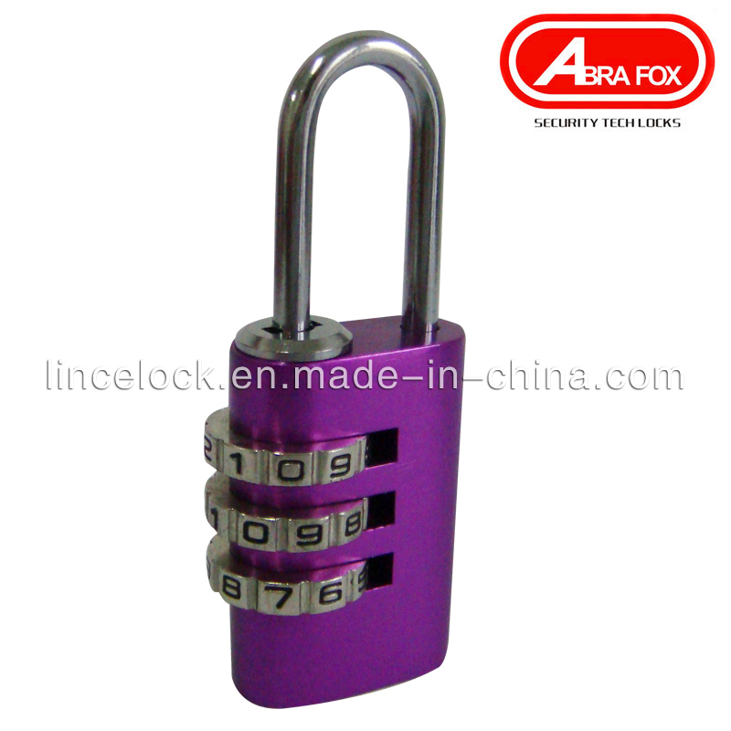 Aluminium Alloy Colour Combination Padlock (530-203)