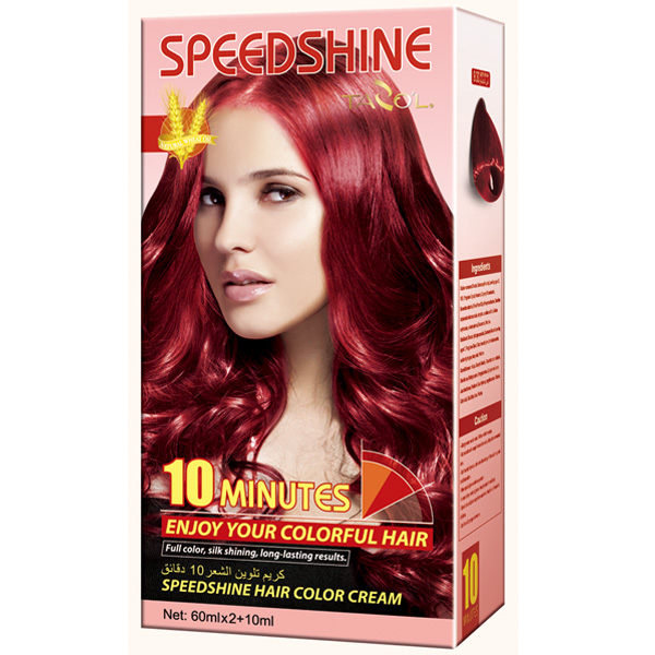 2016 Tazol Speedshine Hair Color Cream