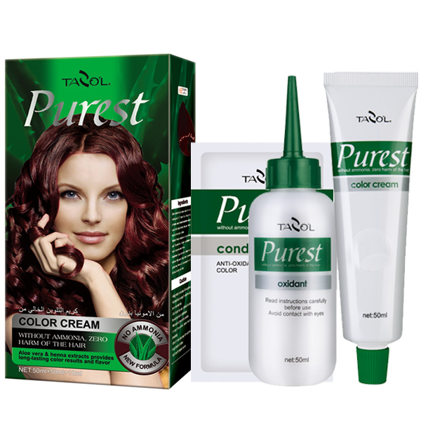 2016 100% No Ammonia Purest Hair Color with Natural Black