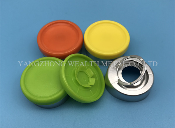 20mm Flip Tear Off Cap