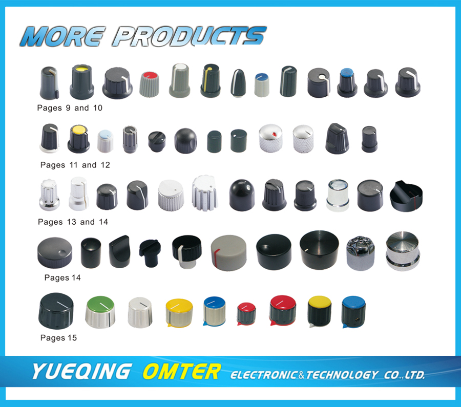Potentiometer Knob Potentiometer Knob Products