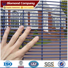 Military boundary wall fence design,High security 358 prison anti-cut fence,anti-climb gate fencing