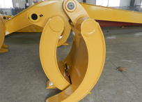 CAT320 Mechanical grab
