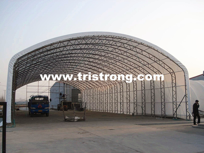 Super Large Canopy, Warehouse, Trussed Frame Steel Structure (TSU-49115)