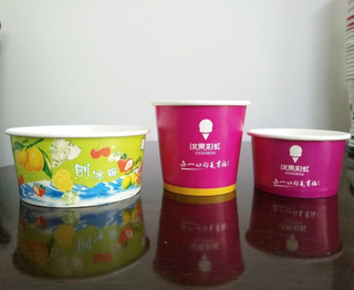 Disposable Ice Cream Cup /Bowl Ice Cup
