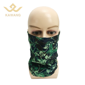 Multifunctional neck scarf custom half face bandana headband