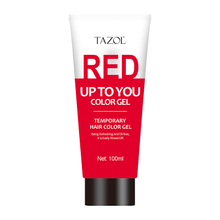 Tazol Temporary Hair Color Gel with Red Color 100g