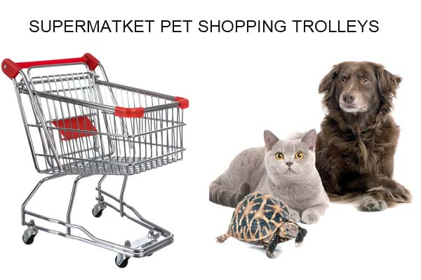 supermarket-pet-shopping-trolley