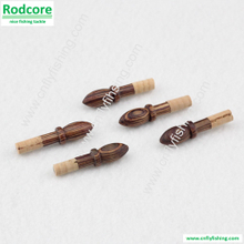 wooden ferrules plug with cork