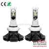 Fanless 6000lm 7S HB3 9005 ZES Chip Car LED Headlight Bulb 3000K 6500K 8000K
