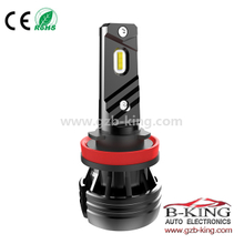 6000lm bright H11 9-32V all in one car 1860 led headlight (with fan built-in)