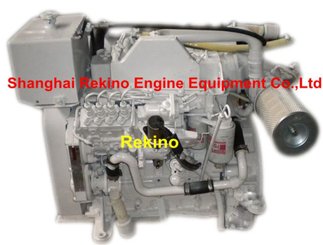 Cummins 4BTA3.9-GM47 GM65 marine G drive auxiliary diesel engine for generator